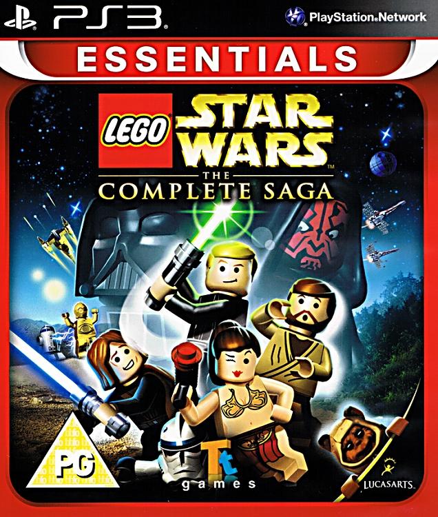 Lego Star Wars Complete Saga Ps3 Essentials