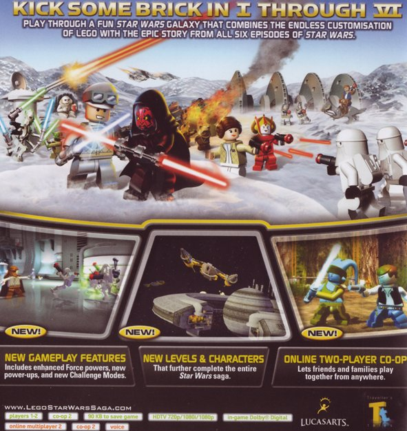 Lego Star Wars The Complete Saga Classics