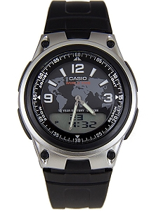 Casio Digital Analogue Watch World Time