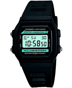 Casio Digital Watch Electro Luminescence Illuminator W-86-1VQES