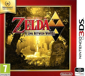 Legend of Zelda A Link Between Worlds 3DS *Nintendo Selects*