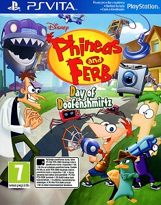 Phineas and Ferb Day of Doofenshmirtz PSVita