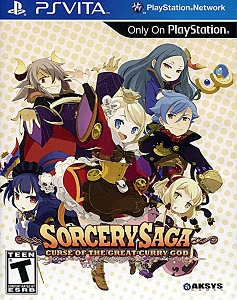 Sorcery Saga Curse of the Great Curry God PSVita