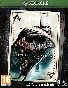 Batman Return to Arkham Xbox One (2 Batman Hits Remastered)