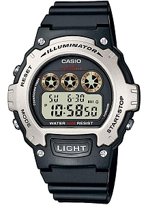 Casio Digital Watch Illuminator Chronograph