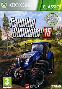 Farming Simulator 15 Xbox 360 *Classics Best Seller*