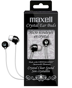 Maxell Crystal Ear Buds