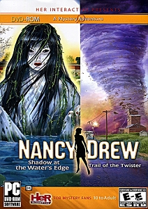 Nancy Drew Shadow at the Water's Edge & Trail of the Twister 2 in 1 Pack