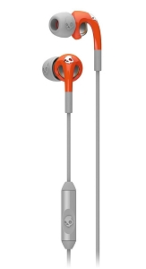 Skullcandy Fix Earbuds with Mic1 (Orange/Grey)
