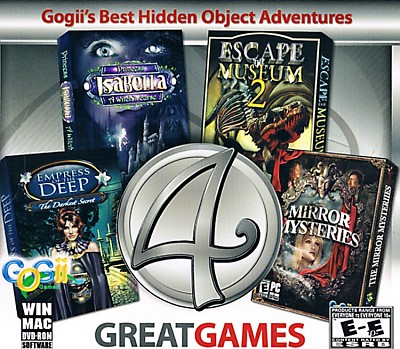 4 Great Games Cover
