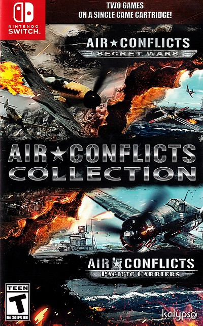 Air Conflicts Collection Switch Cover Art