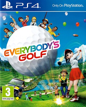 Everybody's Golf PS4 Cover Artwork