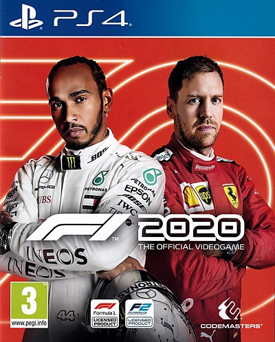 F1 2020 PS4 Cover Artwork
