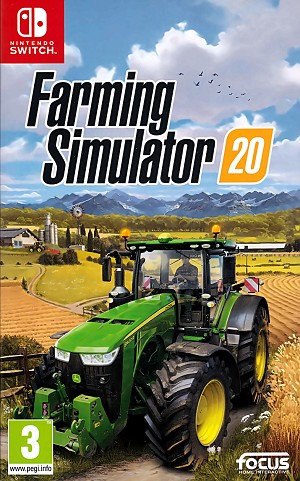 Farming Simulator 20 Switch Cover Artwork