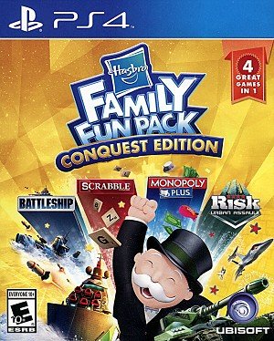 Hasbro Family Pack Conquest Edition PS4 Cover Art