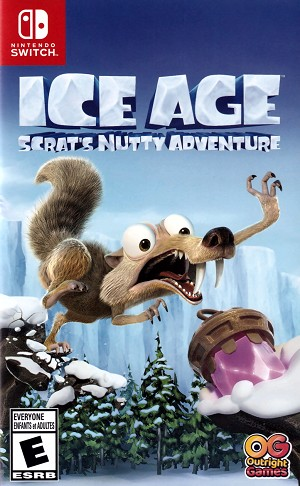 Ice Age Scrat's Nutty Adventure Switch Cover Art