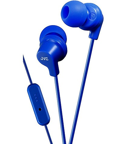 JVC Powerful Sound Earphones Unboxed Blue