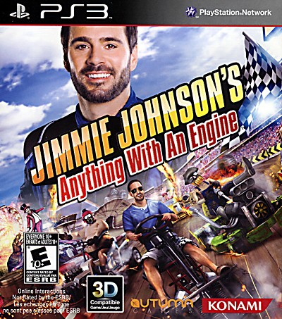 Jimmie Johnson's Anything With An Engine PS3 Cover Art
