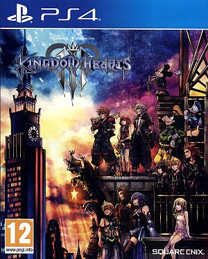 Kingdom Hearts III PS4 Cover Art