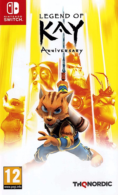 Legend of Kay Anniversary Switch Cover Art