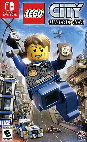 Lego City Undercover Switch Game Pack Cover Art