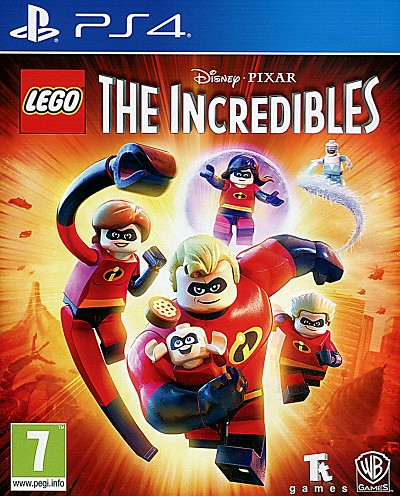 Lego Incredibles PS4 Cover Art