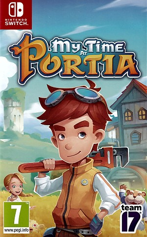 My Time at Portia Switch Cover Art Switch