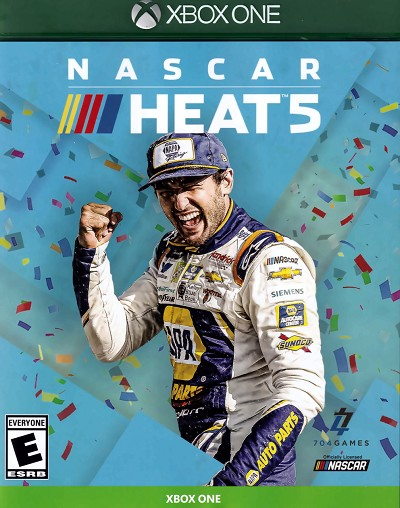 Nascar Heat 5 Xbox One Cover Art
