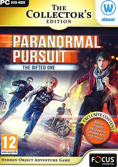 Paranormal Pursuit Gifted One PC Cover Art