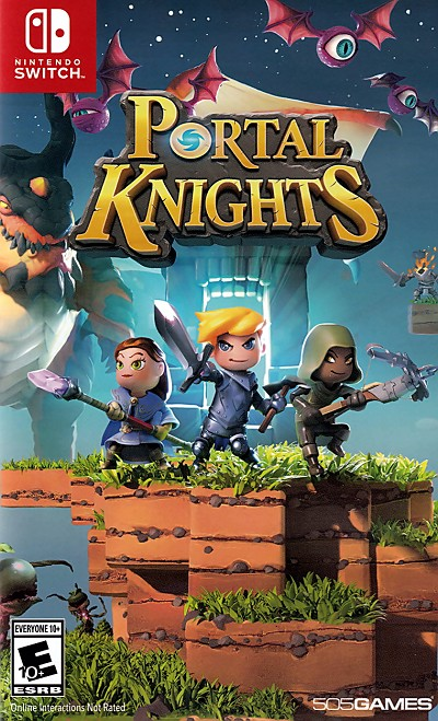 Portal Knights Switch Cover Art
