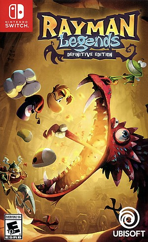 Rayman Legends Definitive Ed. Switch Cover Art