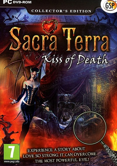 Sacra Terra Kiss of Death Collector's Ed. Front Cover Art
