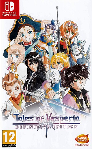 Tales of Vesperia Definitive Edition Switch Game Pack Cover Art