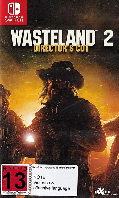 Wasteland 2 Director's Cut Switch Game Pack Cover Art