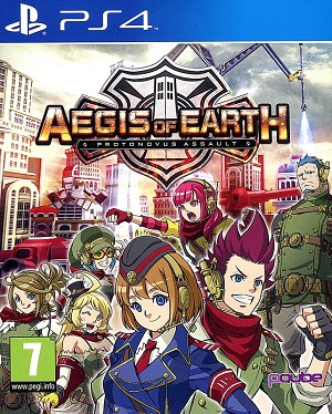Aegis of Earth Protonovus Assault PS4 Cover Art