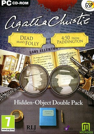 Agatha Christie Hidden Object Double Pack Cover Art