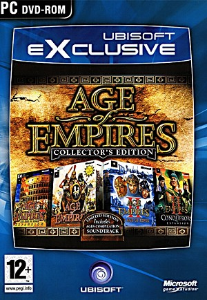 Age of Empires Collector's Edition Front Cover Artwork