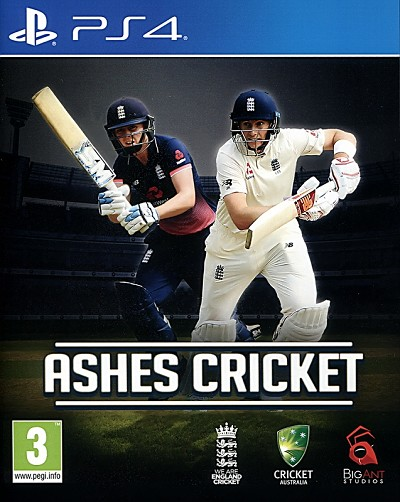 Ashes Cricket PS4 Cover Art