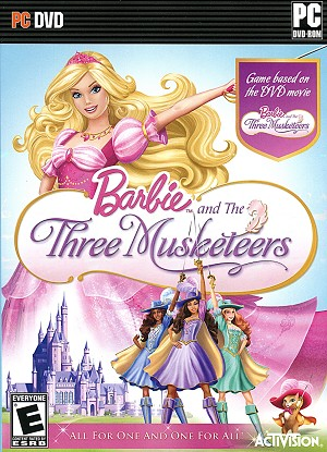 Barbie and the Three Musketeers PC Cover Art