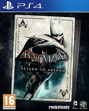 Batman Return to Arkham PS4 (2 Batman Hits Remastered)