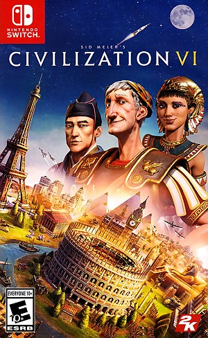Sid Meier's Civilization VI Switch Cover Art