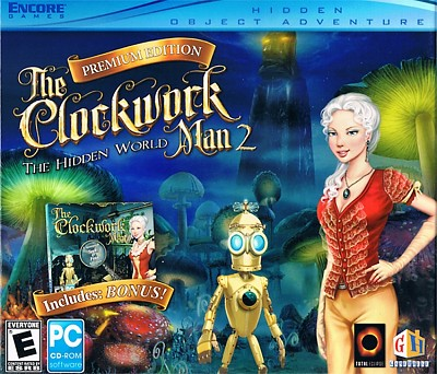 The Clockwork Man 1 & 2 Cover