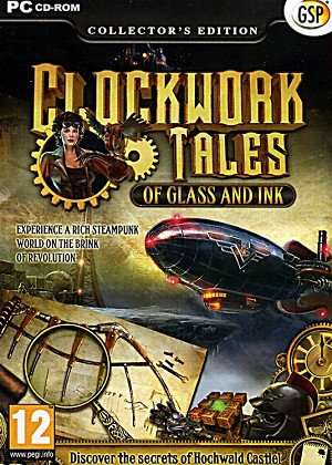 Clockwork Tales: Of Glass and Ink Cover Artwork
