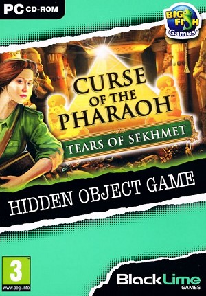 Curse of the Pharaoh Tears of Sekhmet Cover Artwork