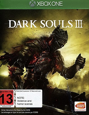 Dark Souls III Xbox One Cover Art