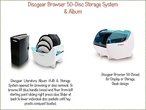 Discgear Browser 50 and How to Browse