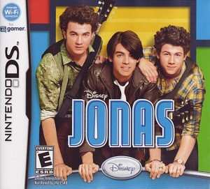 Disney Jonas Nintendo DS Cover