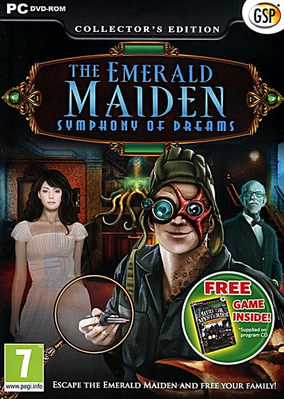 Emerald Maiden Symphony of Dreams Collector's Ed. Cover Artwork