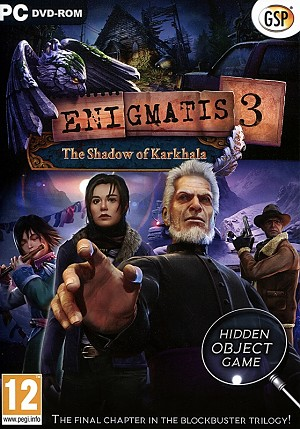 Enigmatis 3 Shadow of Karkhala Collector's Edition PC Cover Art