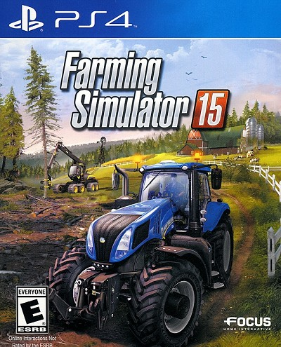 Farming Simulator 15 PS4 Cover Art